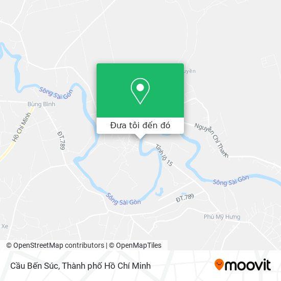 Bản đồ Cầu Bến Súc