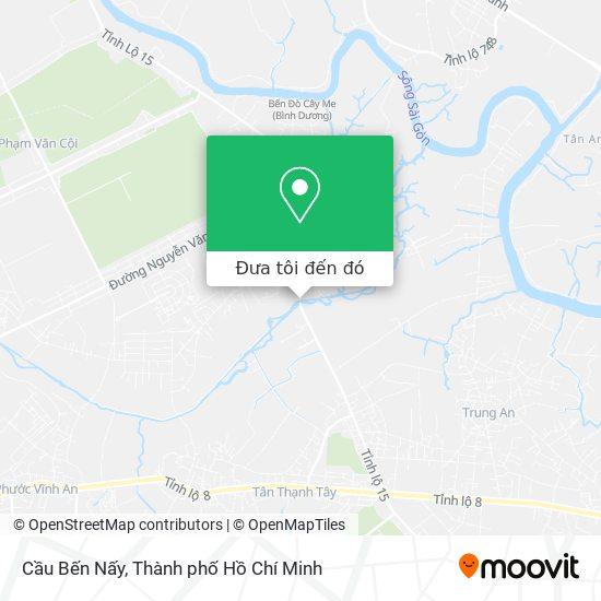 Bản đồ Cầu Bến Nấy