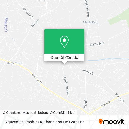 Bản đồ Nguyễn Thị Rành 274