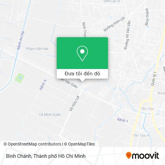 Bản đồ Bình Chánh