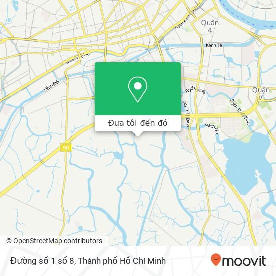 Bản đồ Đường số 1 số 8