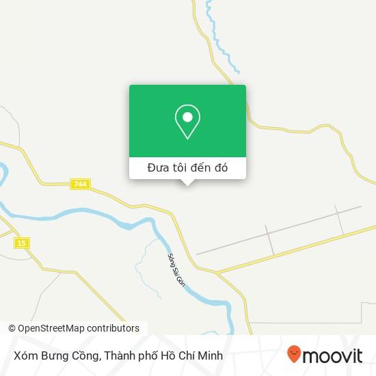 Bản đồ Xóm Bưng Cồng