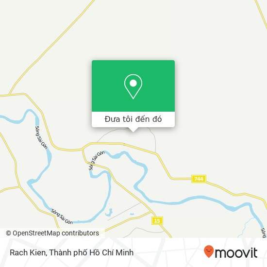 Bản đồ Rach Kien
