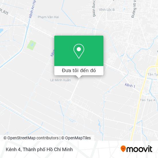 Bản đồ Kênh 4
