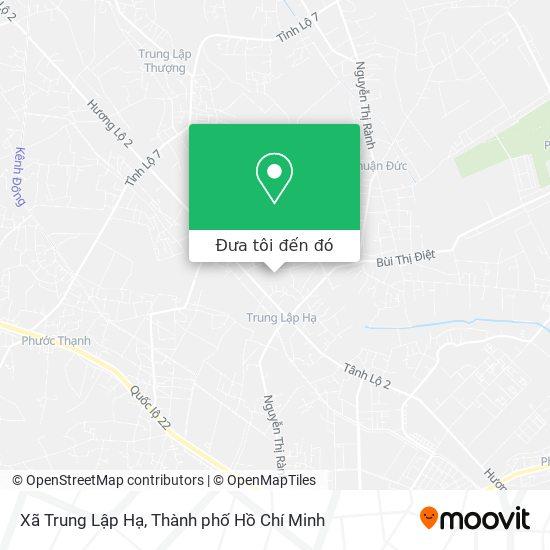 Bản đồ Xã Trung Lập Hạ