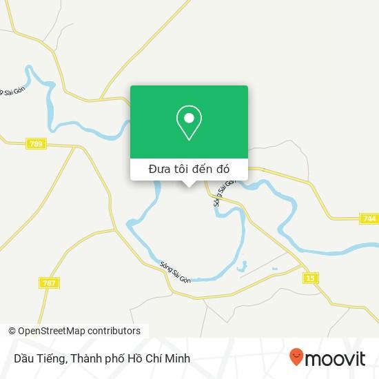 Bản đồ Dầu Tiếng
