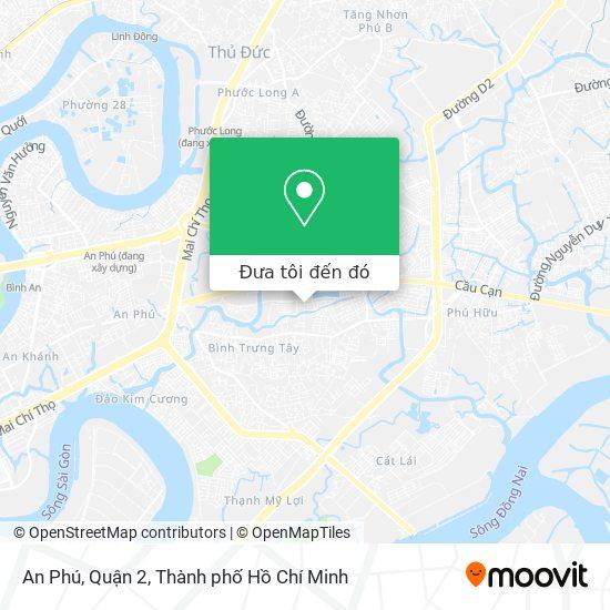 Bản đồ An Phú, Quận 2