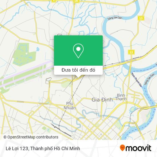 Bản đồ Lê Lợi 123