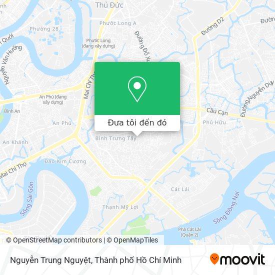 Bản đồ Nguyễn Trung Nguyệt
