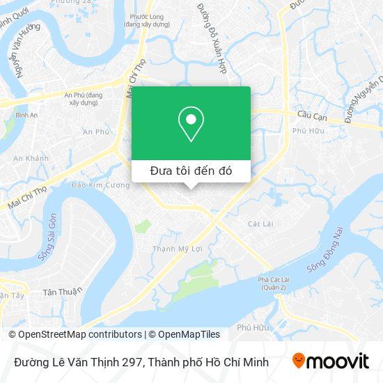 Bản đồ Đường Lê Văn Thịnh 297