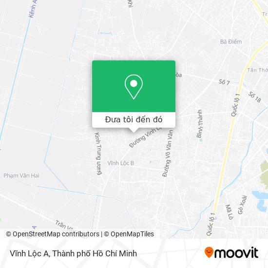 Bản đồ Vĩnh Lộc A