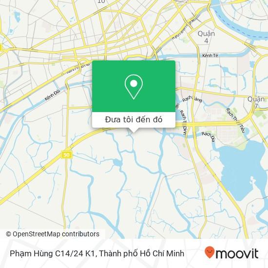Bản đồ Phạm Hùng C14/24 K1