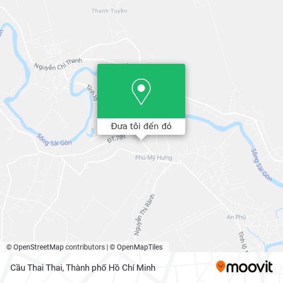 Bản đồ Cầu Thai Thai