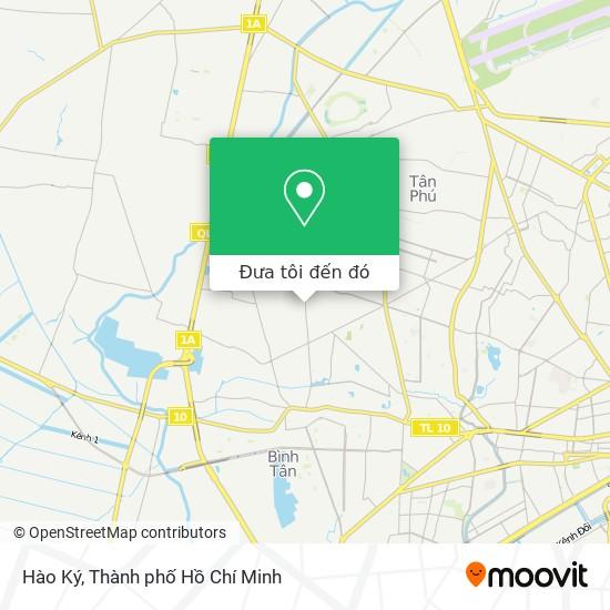 Bản đồ Hào Ký