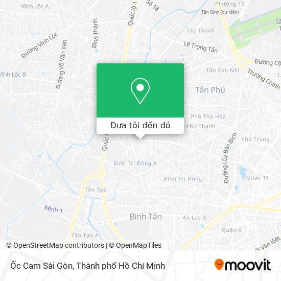Bản đồ Ốc Cam Sài Gòn