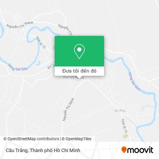 Bản đồ Cầu Trắng