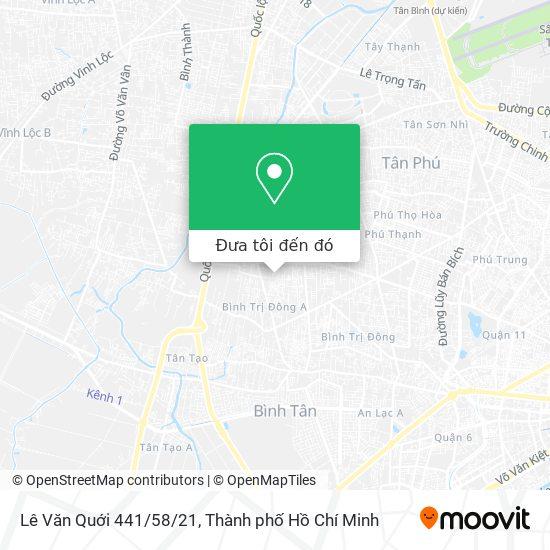 Bản đồ Lê Văn Quới 441/58/21