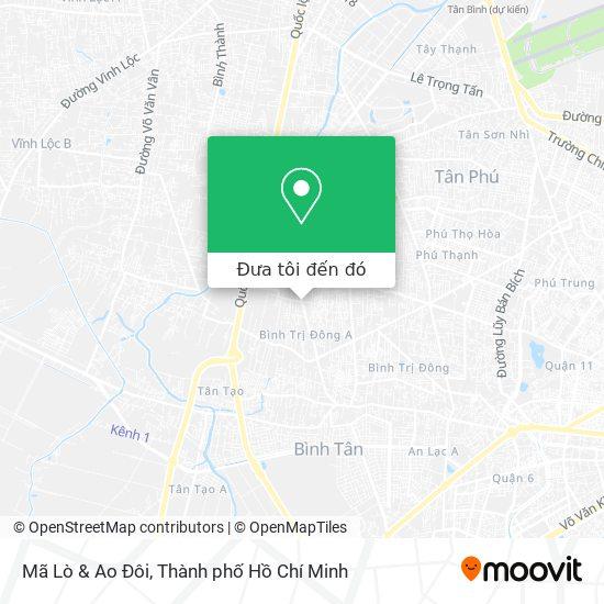 Bản đồ Mã Lò & Ao Đôi