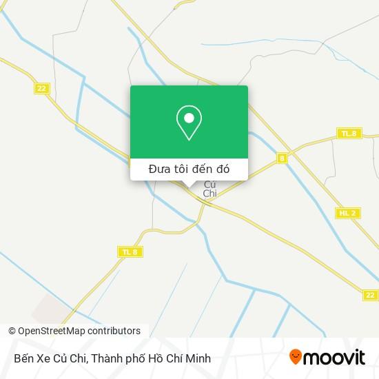 Bản đồ Bến Xe Củ Chi