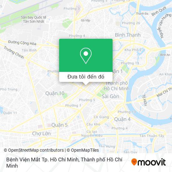Bản đồ Bệnh Viện Mắt Tp. Hồ Chí Minh
