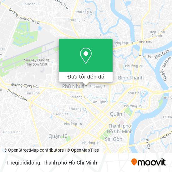 Bản đồ Thegioididong