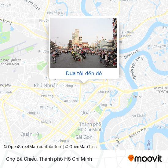 Bản đồ Chợ Bà Chiểu