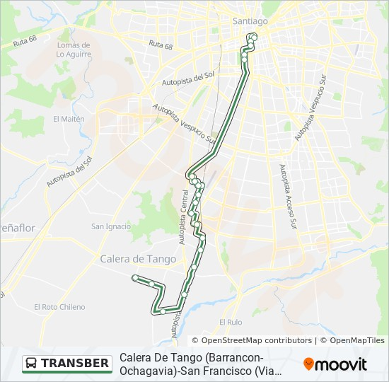 TRANSBER micro Line Map