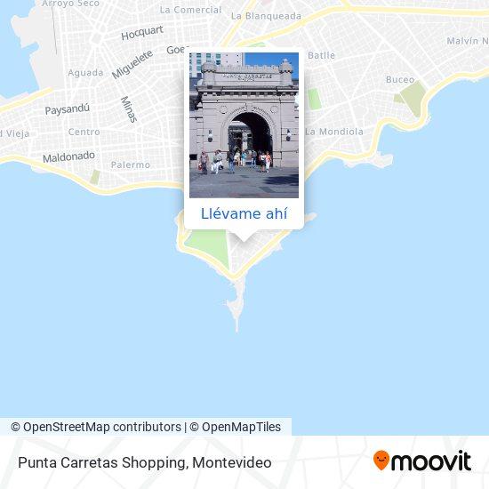 Mapa de Punta Carretas Shopping