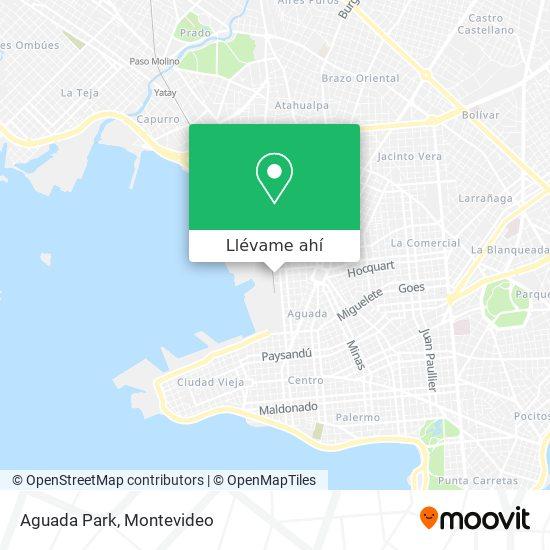 Mapa de Aguada Park