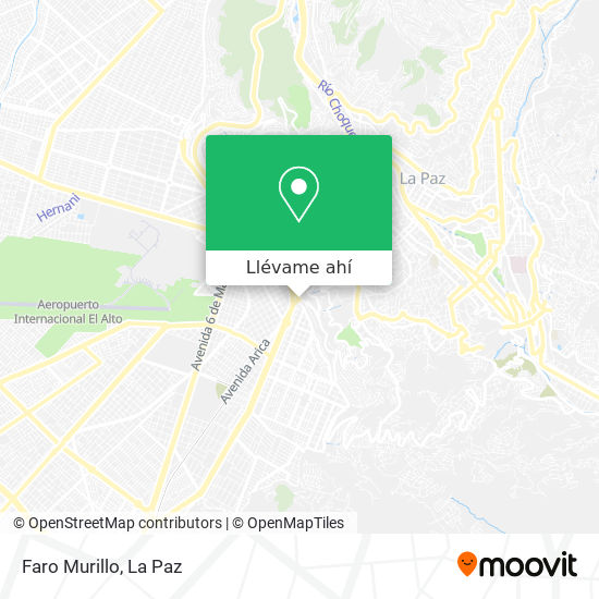 Mapa de Faro Murillo