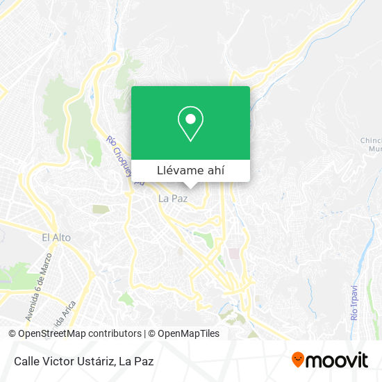 Mapa de Calle Victor Ustáriz