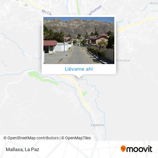 Mapa de Mallasa
