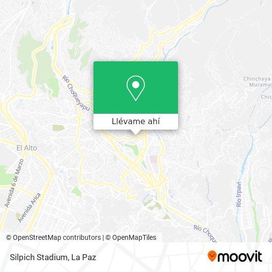 Mapa de Silpich Stadium