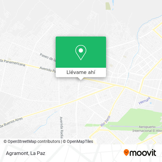 Mapa de Agramont