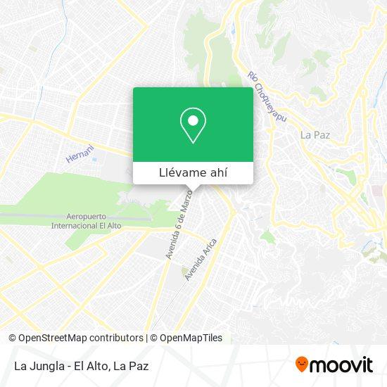 Mapa de La Jungla - El Alto