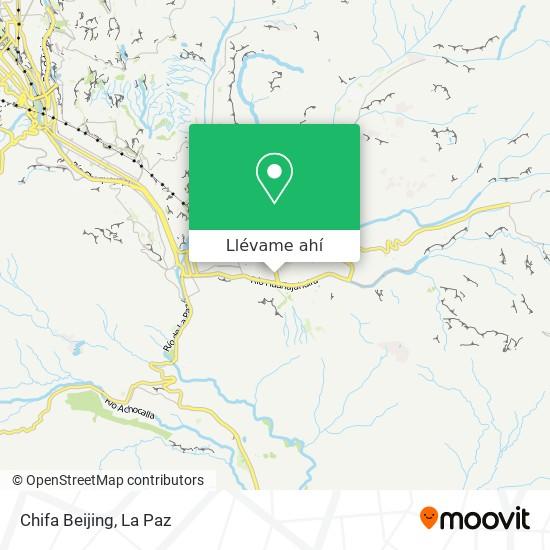 Mapa de Chifa Beijing