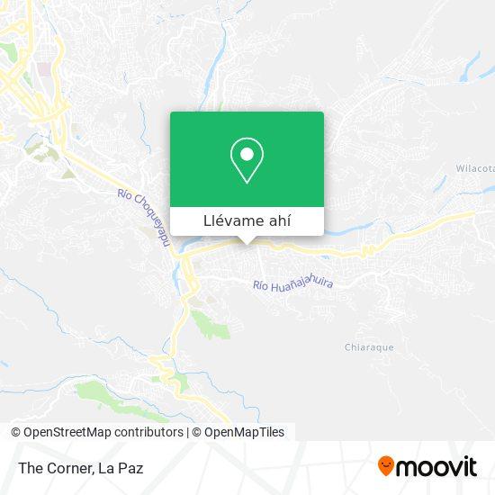 Mapa de The Corner