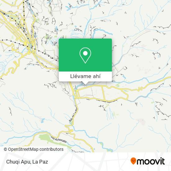Mapa de Chuqi Apu