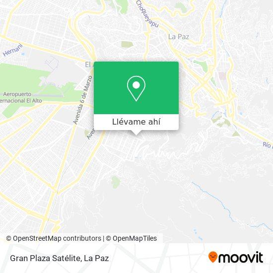 Mapa de Gran Plaza Satélite