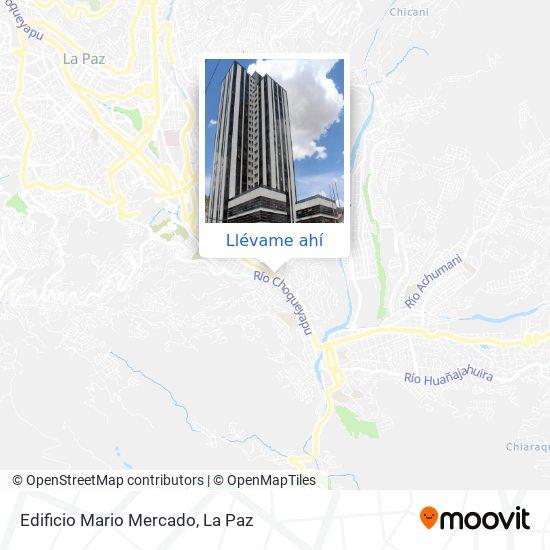Mapa de Edificio Mario Mercado