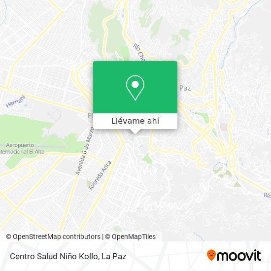 Mapa de Centro Salud Niño Kollo