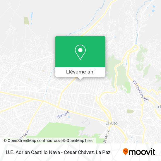 Mapa de U.E. Adrian Castillo