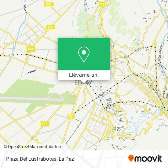 Mapa de Plaza Del Lustrabotas