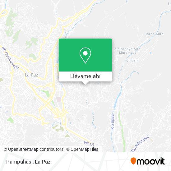 Mapa de Pampahasi