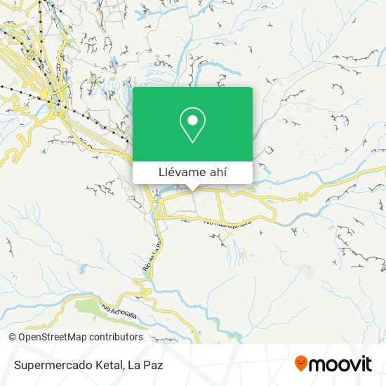 Mapa de Supermercado Ketal