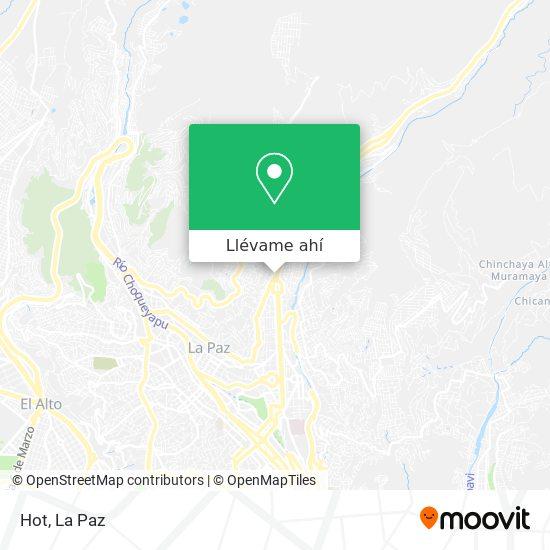 Mapa de Karaoke Hot