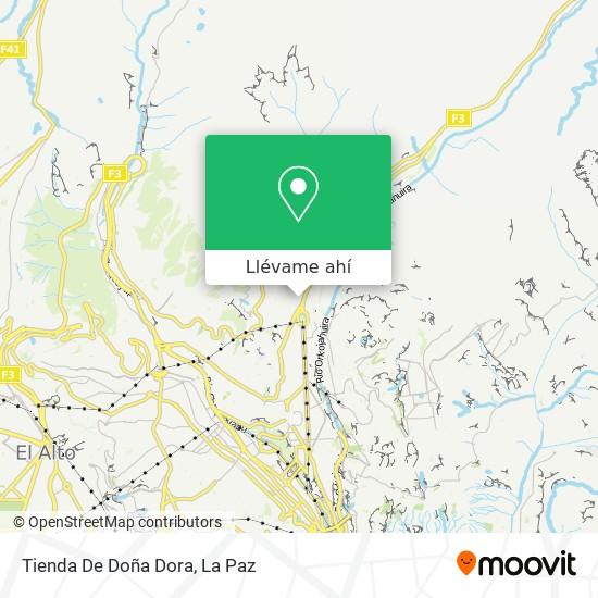Mapa de Tienda De Doña Dora