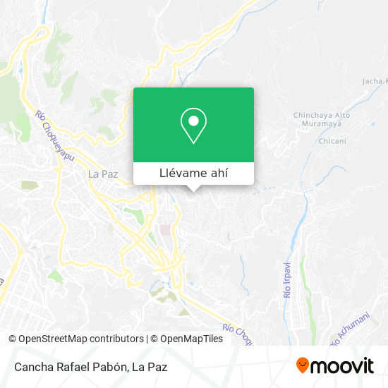 Mapa de Cancha San Antonio