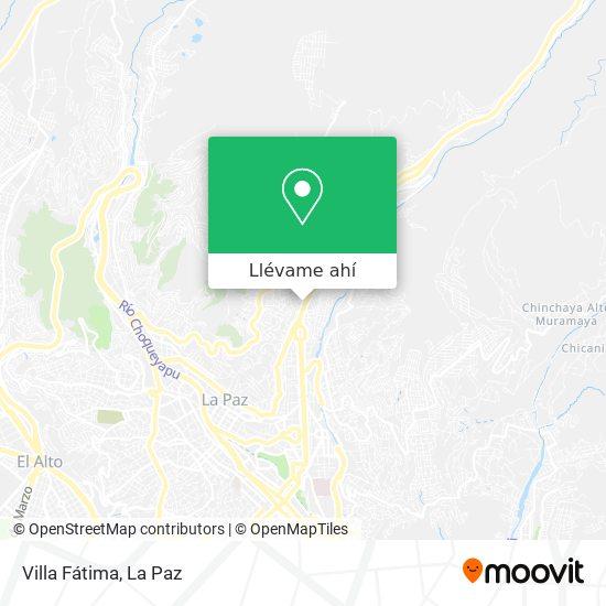 Mapa de Villa Fátima