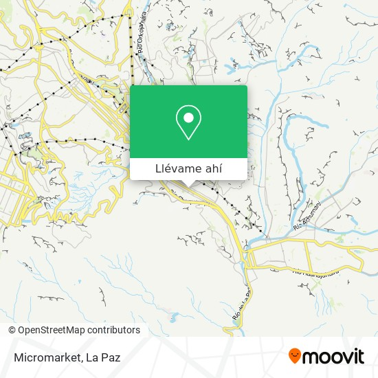 Mapa de Micromarket